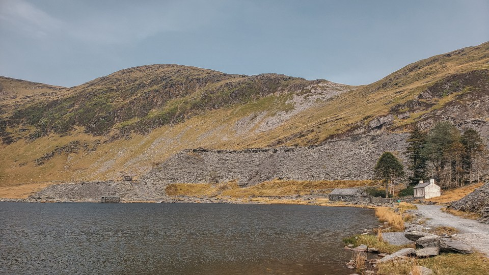 Cwmorthin Lake in North Wales