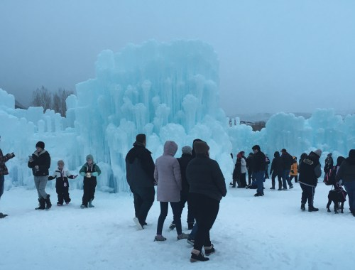 Utah Ice Castle