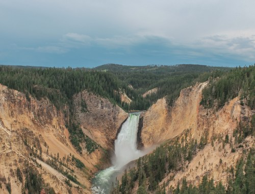 The Grand Canyon of Yellowstone