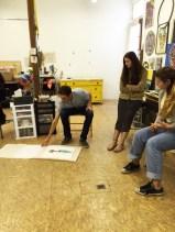 Evan Bissell Studio Visit