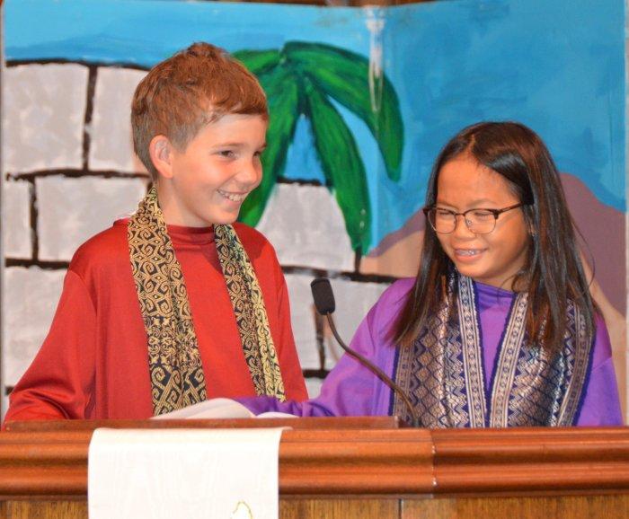 Youth musical at Bay Shore Church.