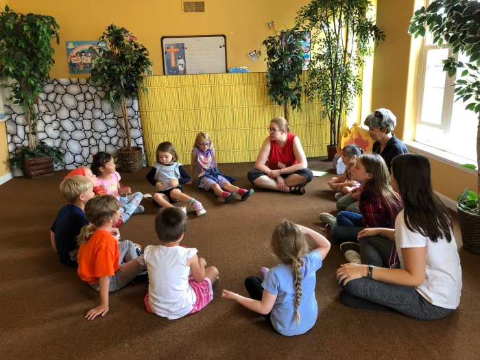 Sunday School at Bay Shore Church image