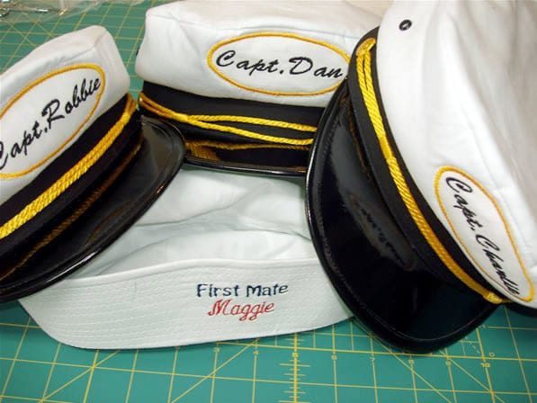 Embroidery Shop for Captain Hats Embroidered Shirts and