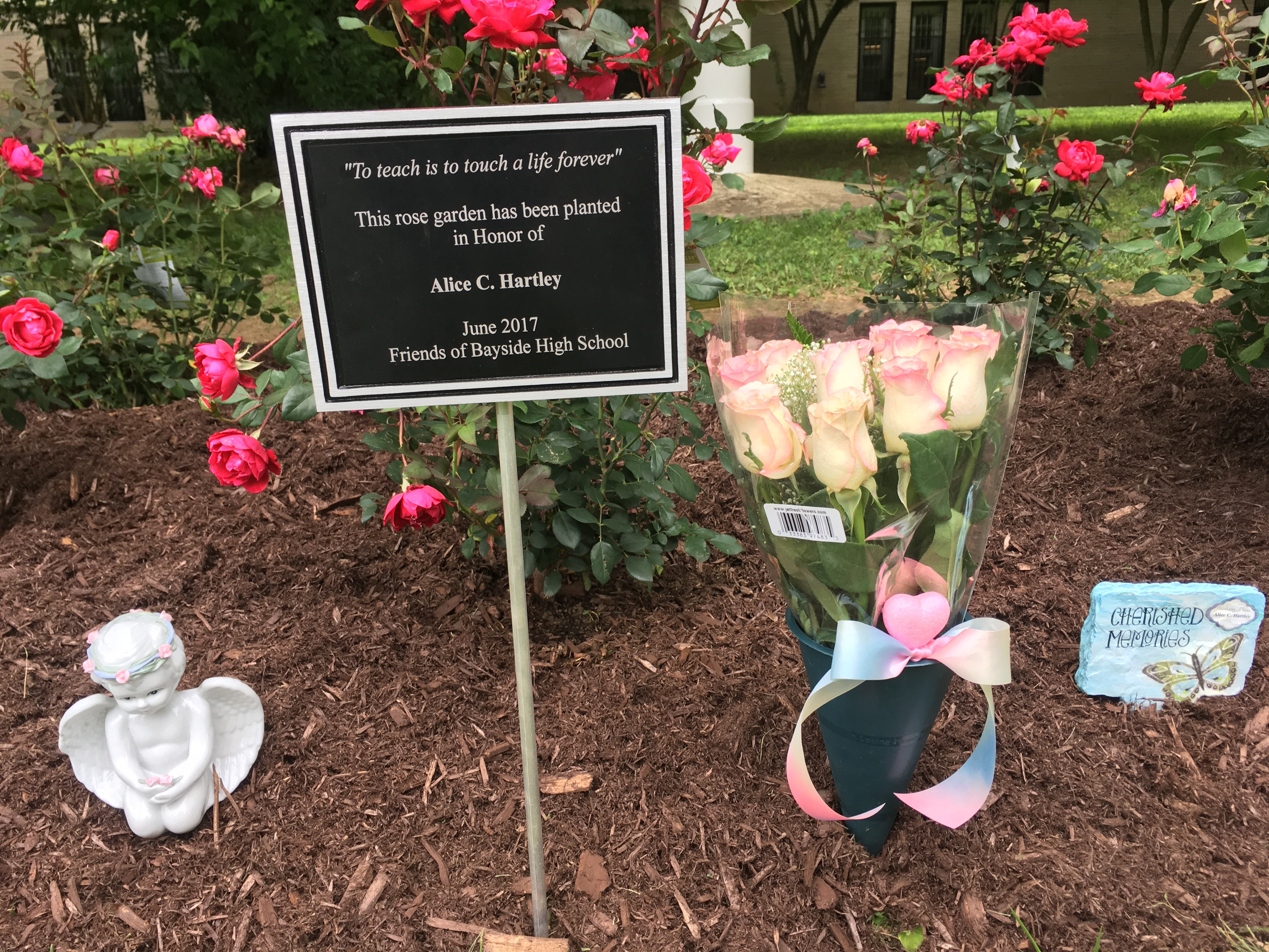 Community Affairs: Bayside High School Rose Garden Dedication
