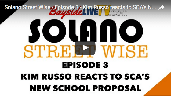 Solano Street Wise – Episode 3 – Kim Russo reacts to SCA's New School Proposal