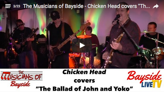 "The Musicians of Bayside – Chicken Head covers ""The Ballad of John and Yoko"""