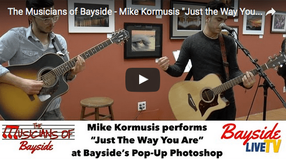 """The Musicians of Bayside – Mike Kormusis """"Just the Way You Are"""""""