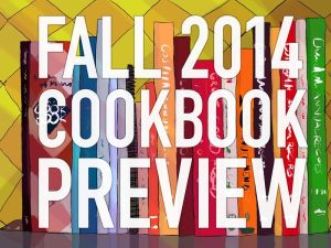 Fall 2014 Cookbook Preview graphic