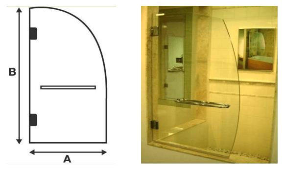 Frameless Bathtub / Shower Screen Doors