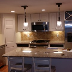 Hanging Kitchen Lights Over Island Bar Chairs Cambridge Remodel | Bay State Refinishing