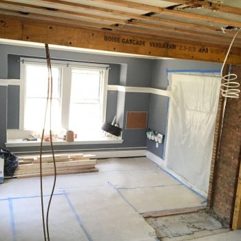 Rsolindale MA Kitchen Remodel - During - Bay State Refinishing & Remodeling