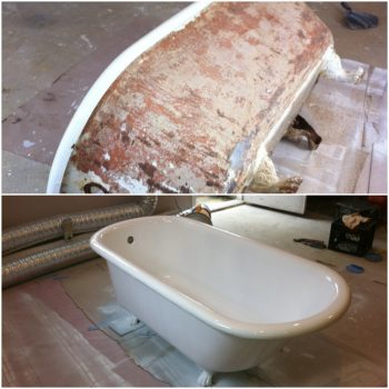 refinishing services porcelain bathtub boston ma
