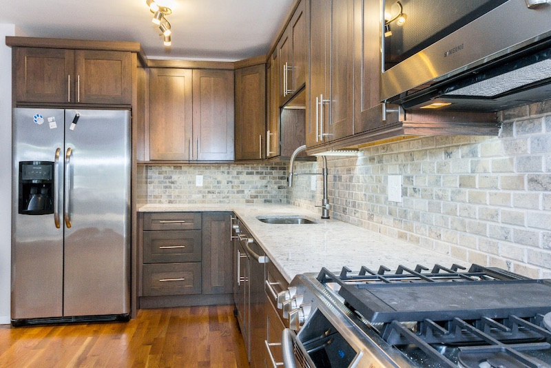 cabinets kitchen features boston bay state
