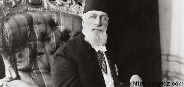 آخر سلطان عثماني