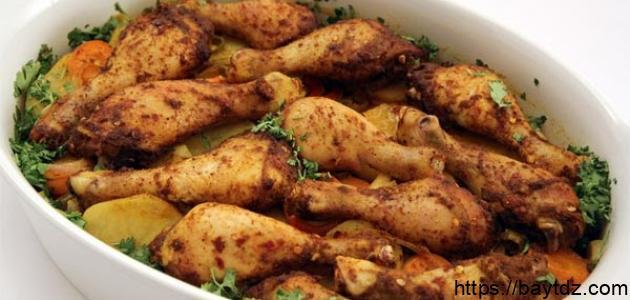 أطباق دجاج جزائرية