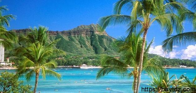 أين توجد جزر هاواي