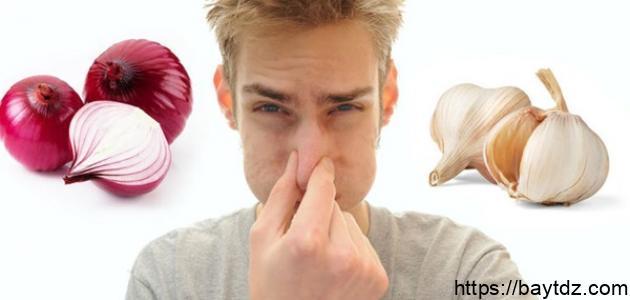 إزالة رائحة الثوم من الفم