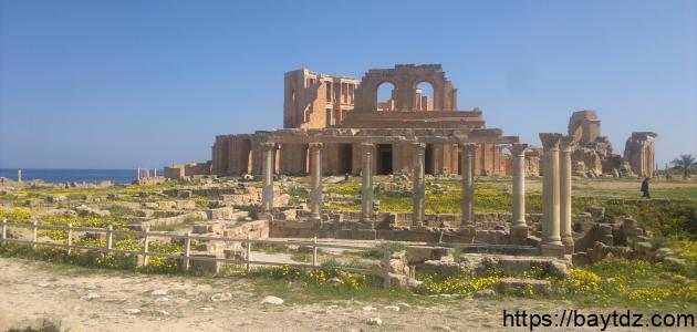 المعالم السياحية في ليبيا