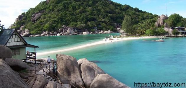 جزيرة كوشان في تايلند