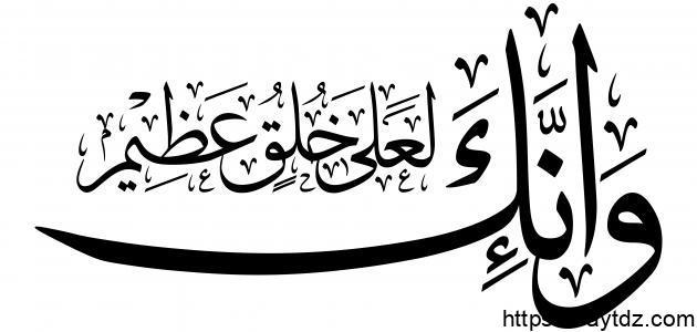 صفات رسول الله صلى الله عليه وسلم الخلقية