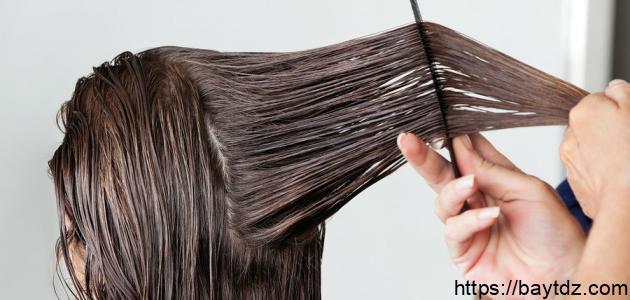 طرق فرد الشعر بالمنزل