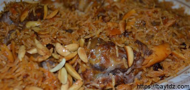 طريقة الأرز البخاري