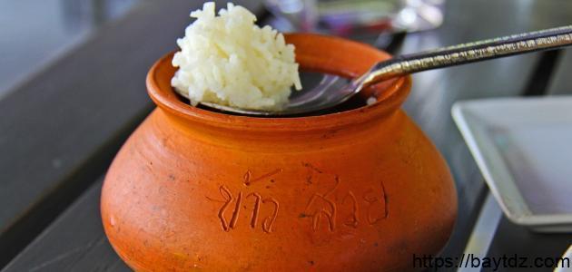 طريقة تحضير الأرز في الفرن
