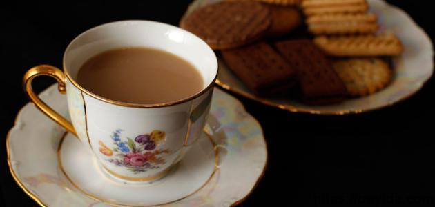 طريقة تحضير حلى بسكويت الشاي
