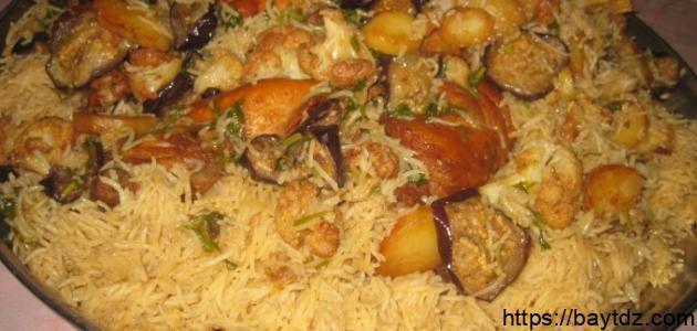 طريقة طبخ المقلوبة السورية