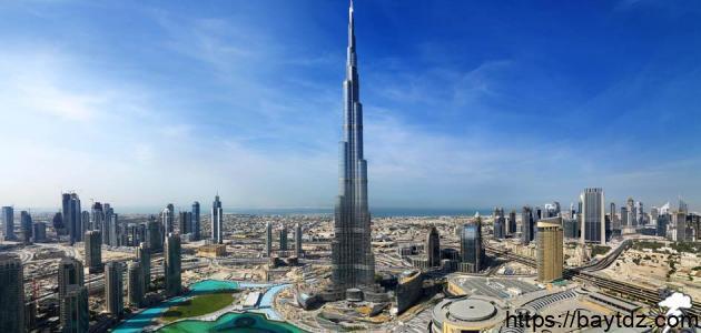 عدد أدوار برج خليفة
