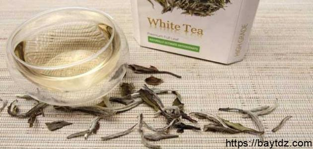 فوائد الشاي الأبيض للبشرة
