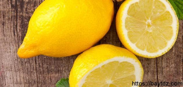 فوائد الليمون للزكام