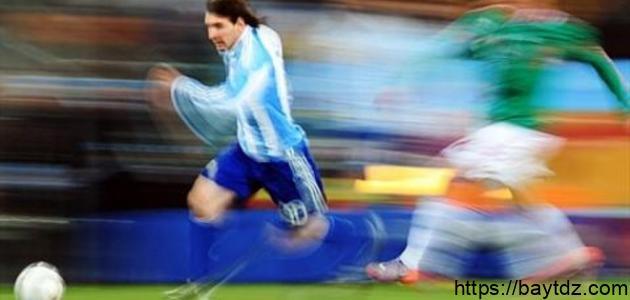 كيف تزيد من سرعتك في كرة القدم