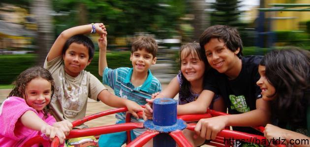 كيفية قضاء وقت الفراغ للأطفال