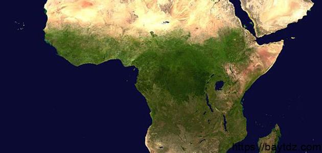 ما هي عدد الدول العربية التي توجد في قارة أفريقيا