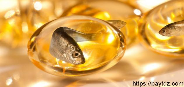 ما هي فوائد وأضرار حبوب زيت السمك