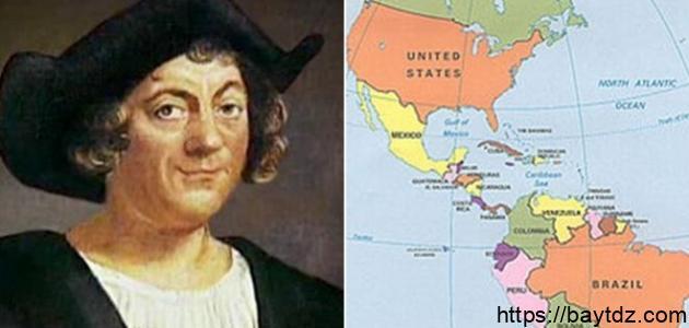 من اكتشف أمريكا
