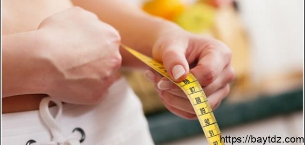 وصفة لنقص الوزن بسرعة