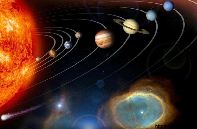 ترتيب الكواكب بالانجليزي
