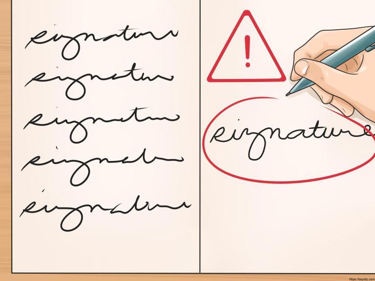 """حلل شخصية اي شخص عن طريق """" الجرافولوجي """" خطه او توقيعه"""