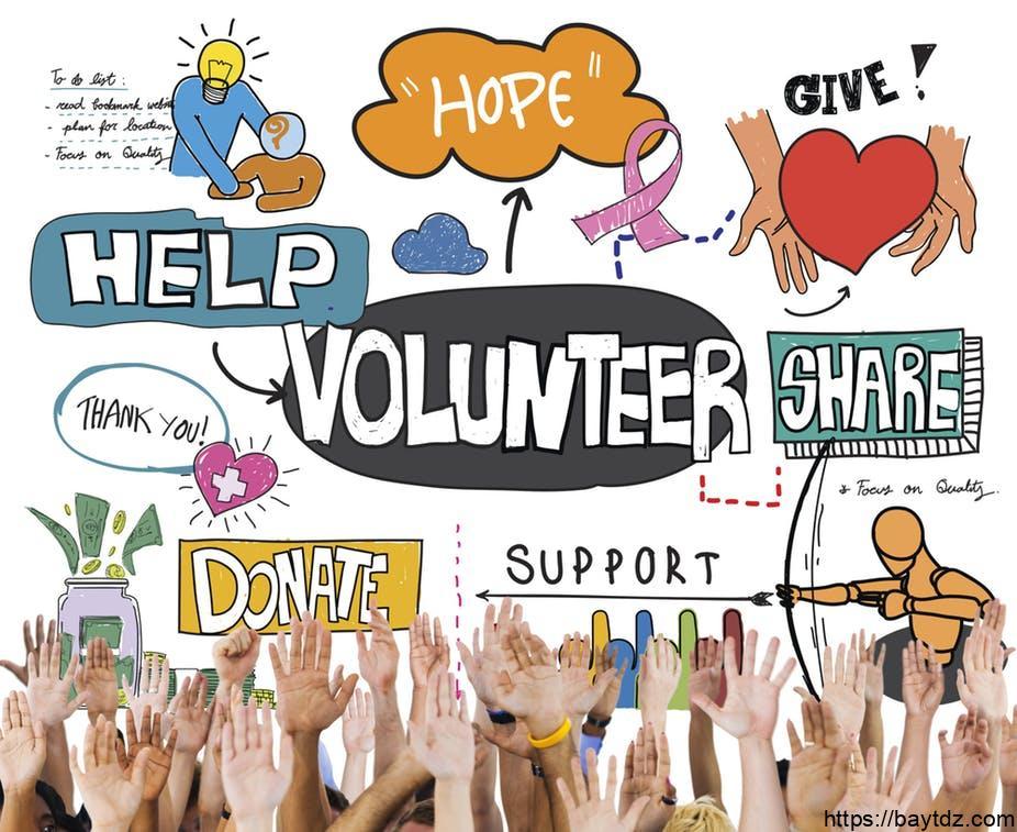 شخصيات بارزة في العمل التطوعي