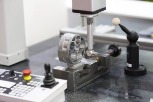 Inspection high precision part by CMM