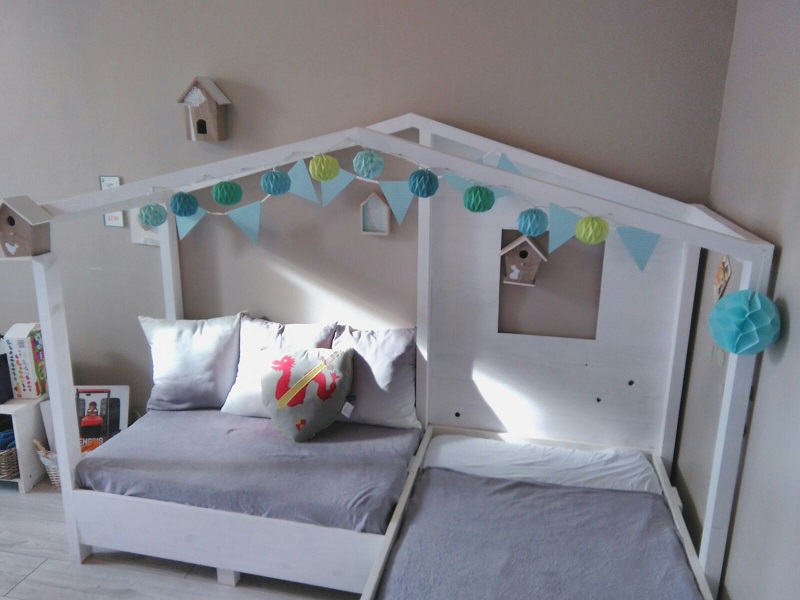 DIY Comment Transformer Un Lit Enfant En Lit Maison