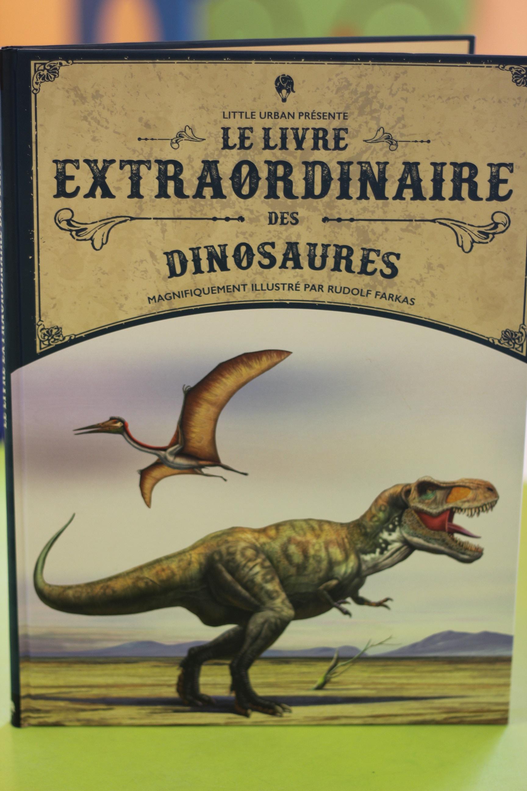 Le Livre Extraordinaire Des Dinosaures : livre, extraordinaire, dinosaures, [Avis, Livre], Livre, Extraordinaire, Dinosaures, Rudolf, Farkas, {Chut,, Enfants, Lisent, Hibou