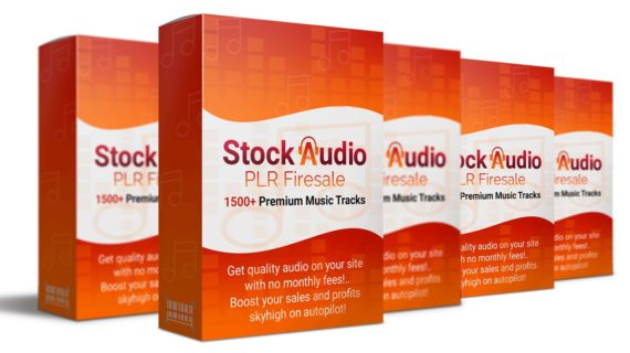 1500+ Stock Audio Firesale with Private Label Rights (PLR)