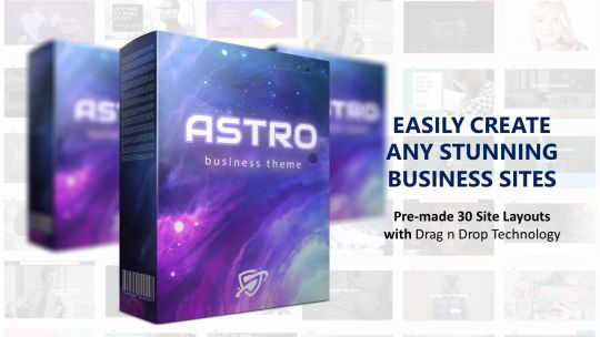 30+ ASTRO WPTheme: Create Any STUNNING Business Websites
