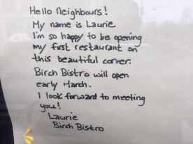 Laurie's note