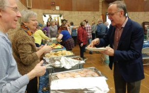 MP Oliphant sees there is peameal bacon too