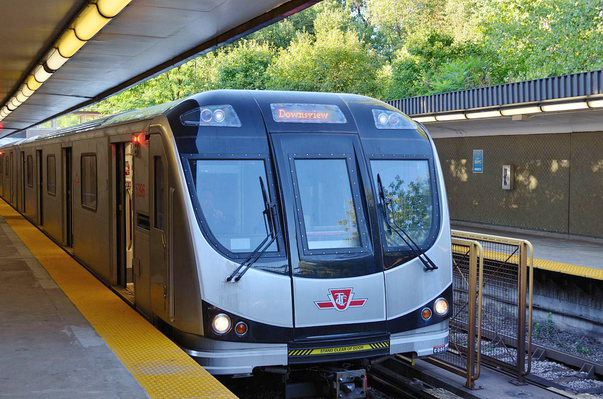 Teen's alarming lounge on subway car at Davisville yard