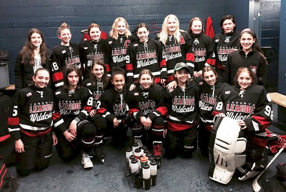 Wildcats Peewee A team headed to championship